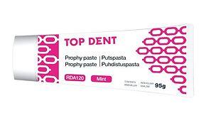 Puhdistuspasta Top Dent punainen 120